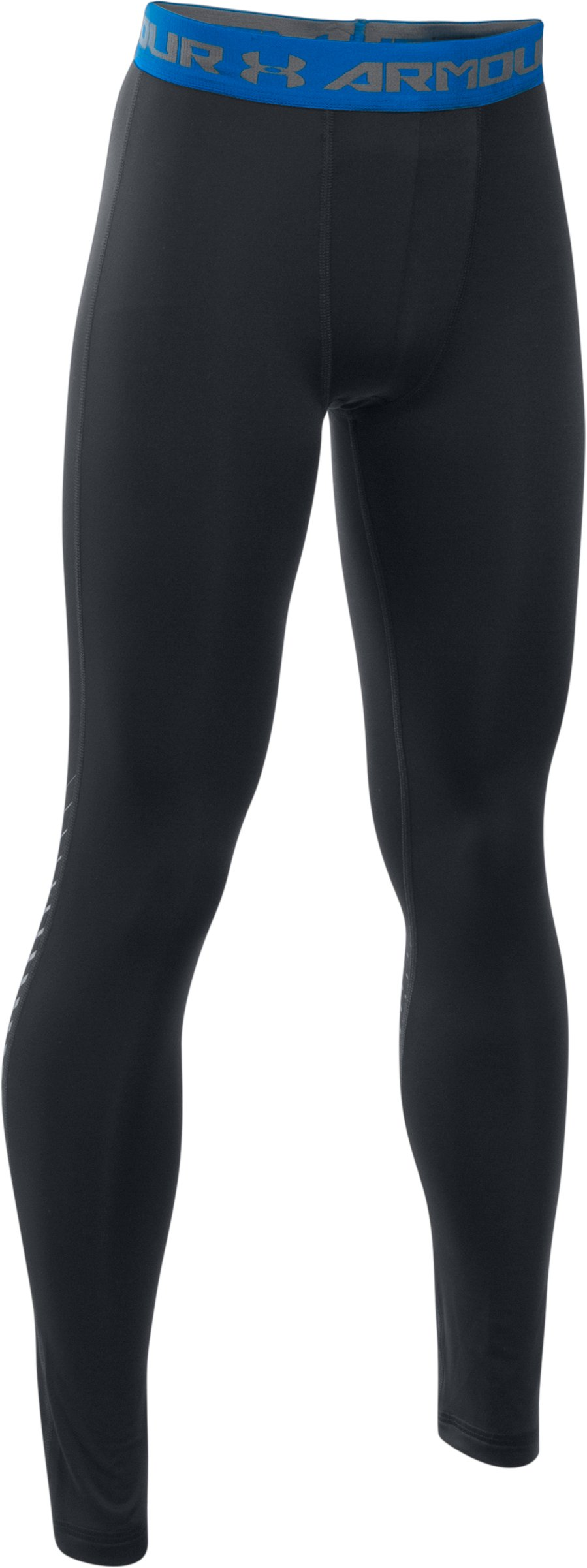 Boys' UA HeatGear® Armour Up Legging, Black ,