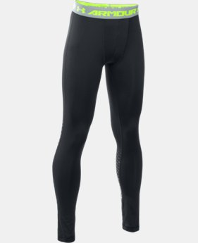 Boys' UA HeatGear® Armour Up Legging