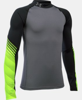 Boys' UA ColdGear® Armour Up Mock LIMITED TIME: FREE SHIPPING 1 Color $44.99