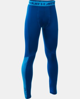 Boys' UA ColdGear® Armour Up Legging LIMITED TIME: FREE SHIPPING 2 Colors $37.49
