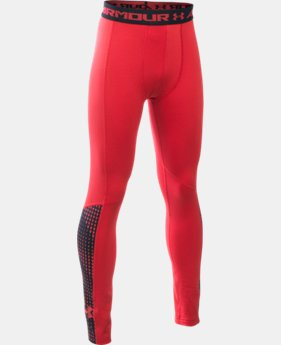 Boys' UA ColdGear® Armour Up Legging