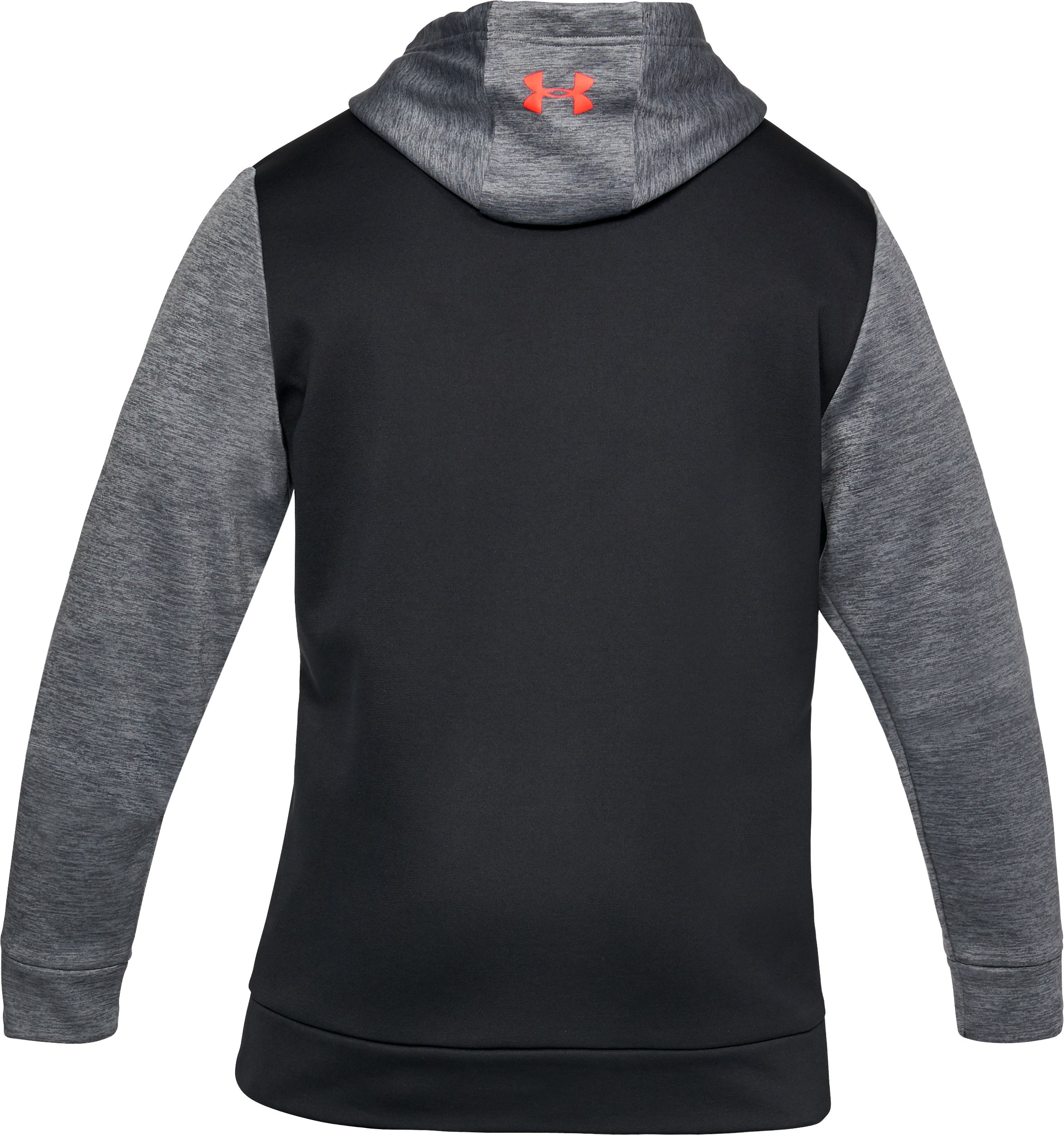 Men's UA Storm Armour Fleece® Twist Hoodie, RHINO GRAY,