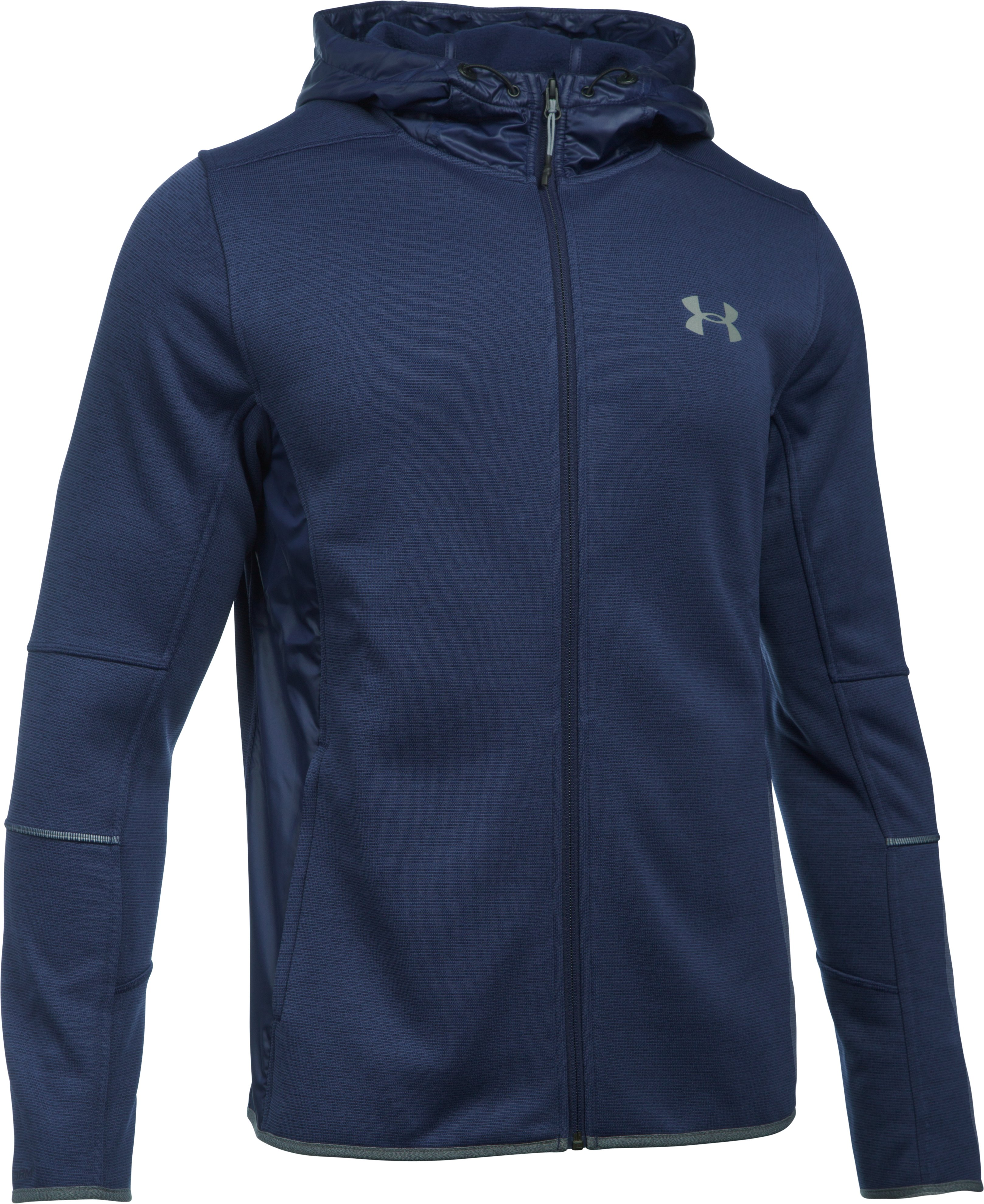 Men's UA Swacket, Midnight Navy, undefined
