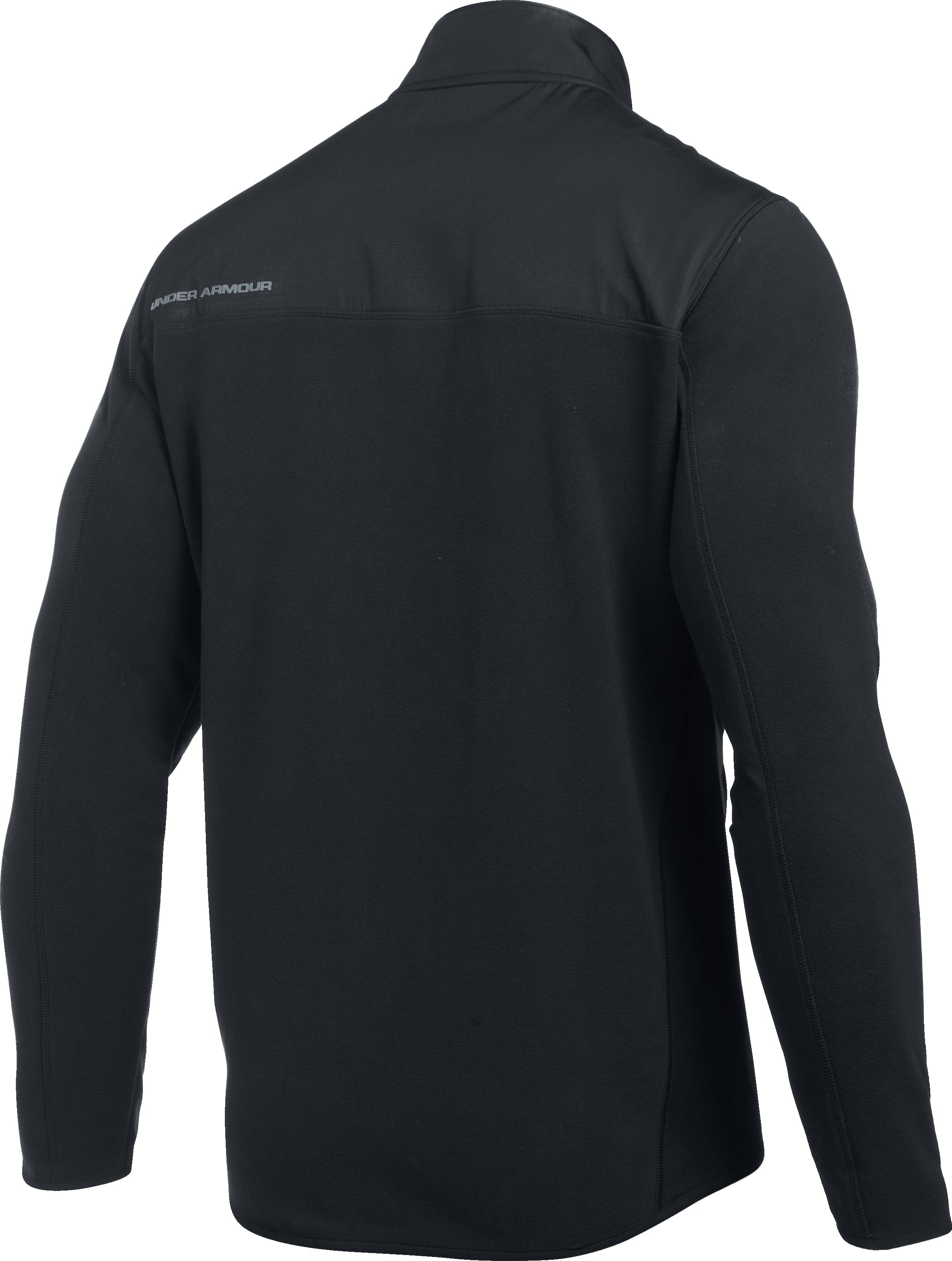 Men's UA ColdGear Infrared® Fleece Heavyweight Hoodie, Black ,