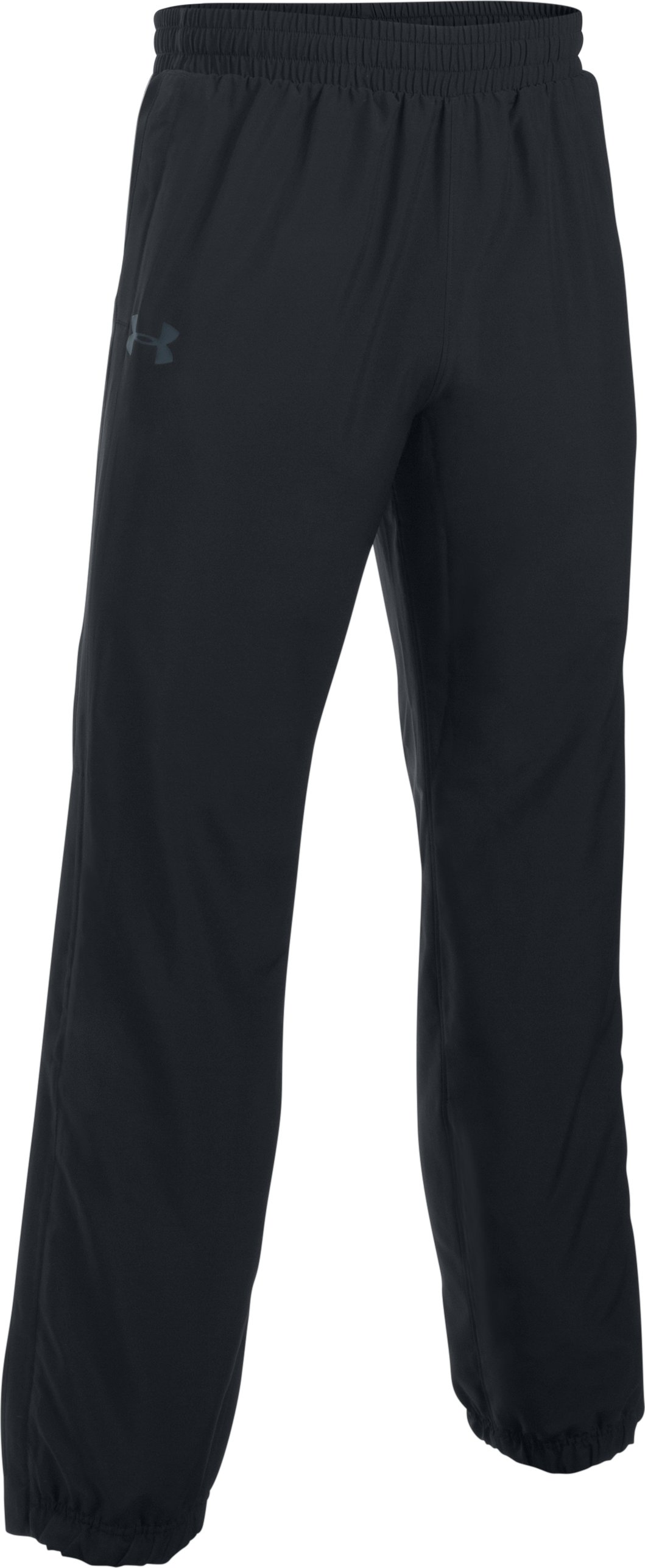 Men's UA Storm Powerhouse Cuffed Pants, Black ,