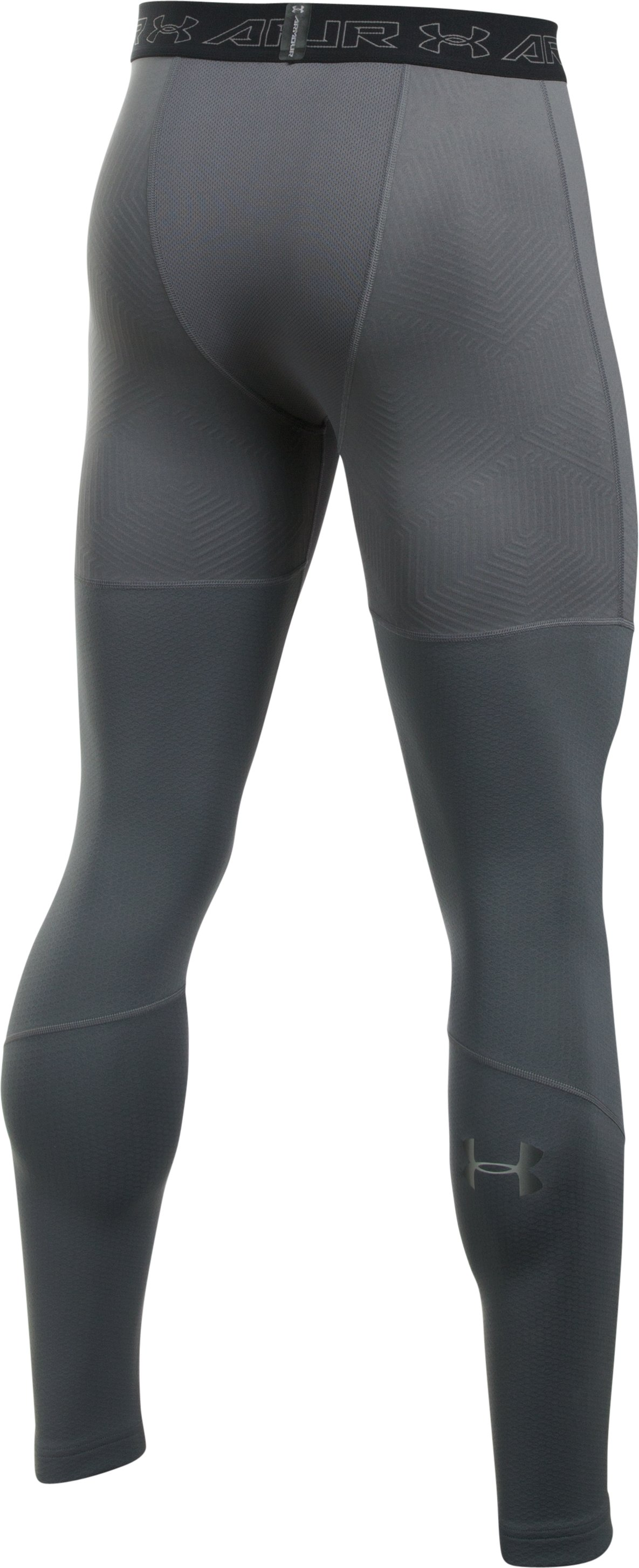 Men's UA ColdGear® Armour Leggings, Graphite,