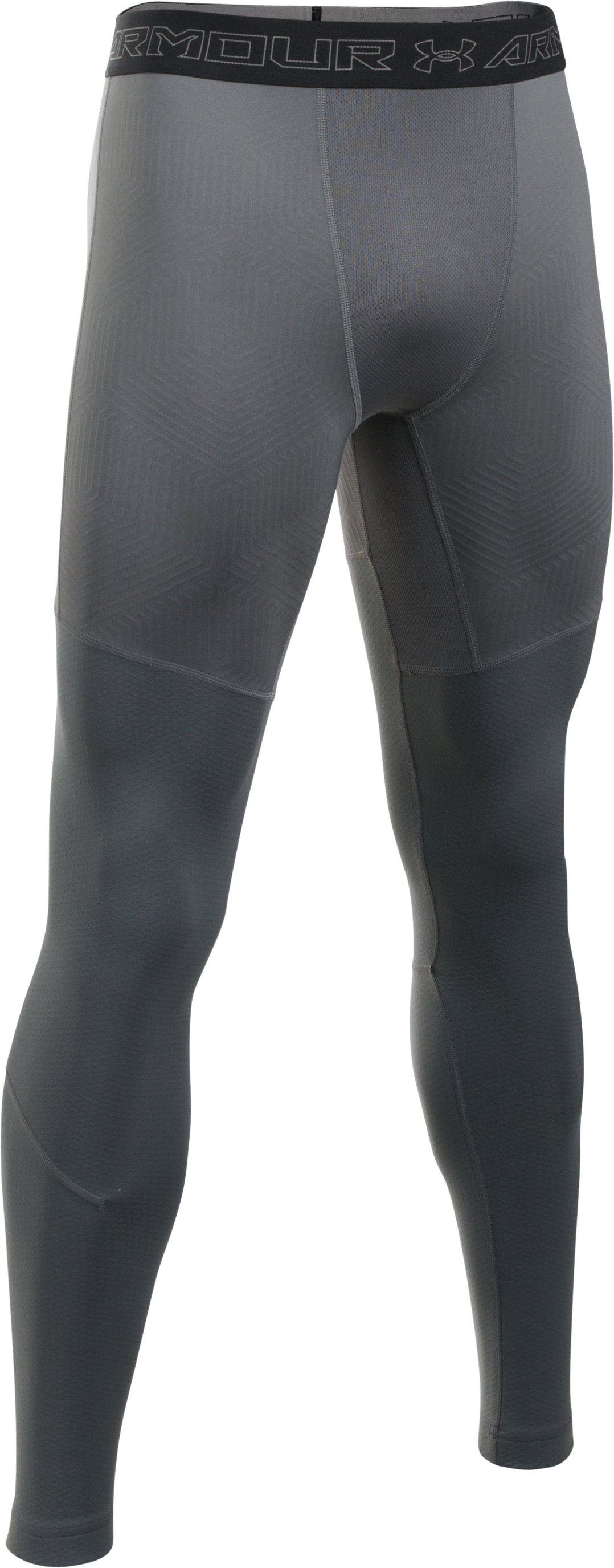 Men's UA ColdGear® Armour Elements Leggings, Graphite