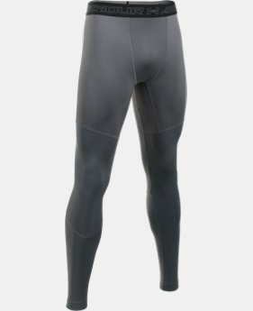 New Arrival  Men's UA ColdGear® Armour Elements Leggings  1 Color $74.99