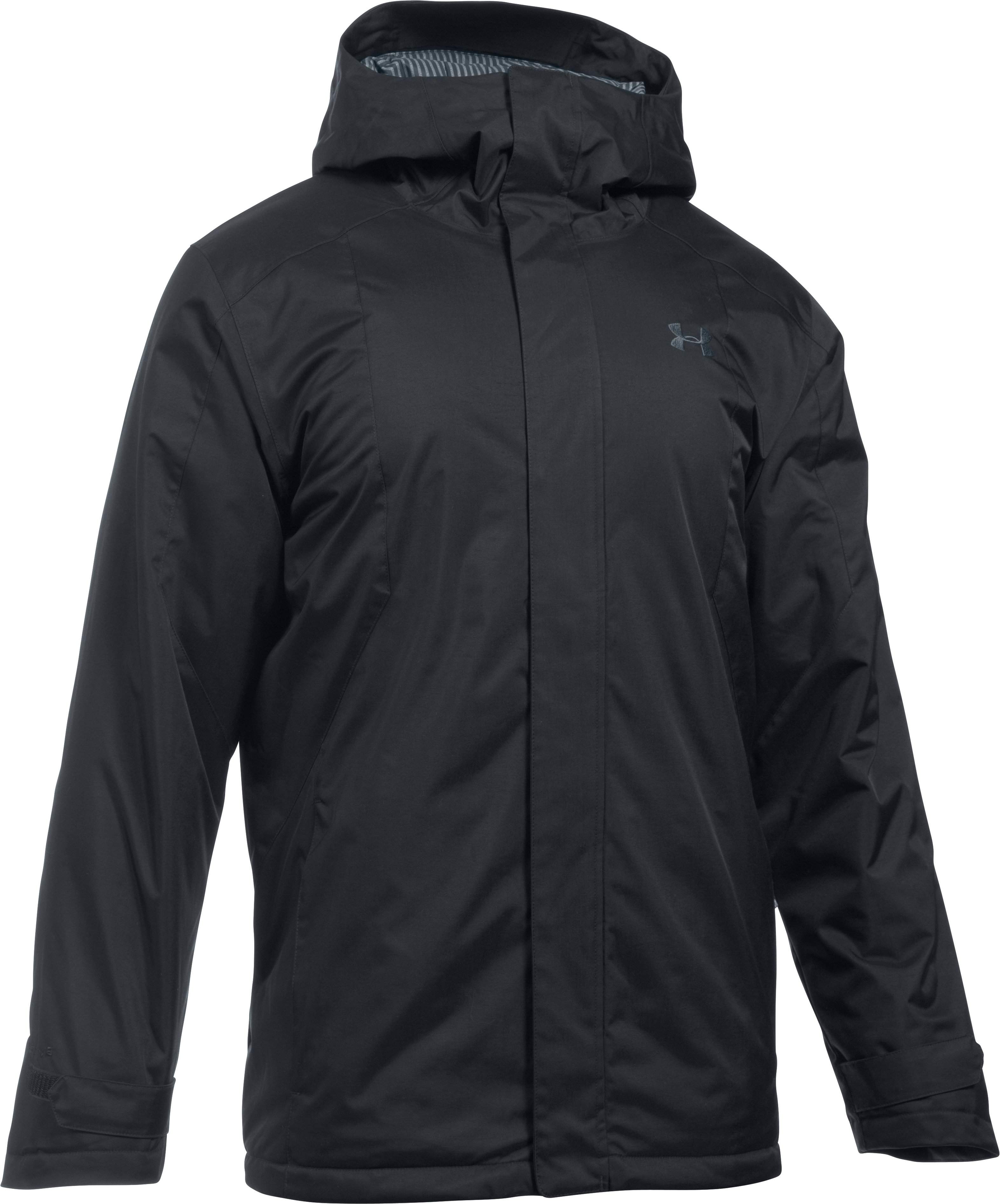Men's ColdGear® Reactor Yonders Jacket, Black , undefined