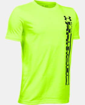 Boys' UA Sideline Logo T-Shirt LIMITED TIME: FREE SHIPPING 1 Color $19.99