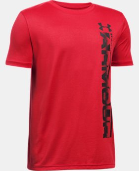 Boys' UA Sideline Logo T-Shirt LIMITED TIME: FREE SHIPPING  $17.99
