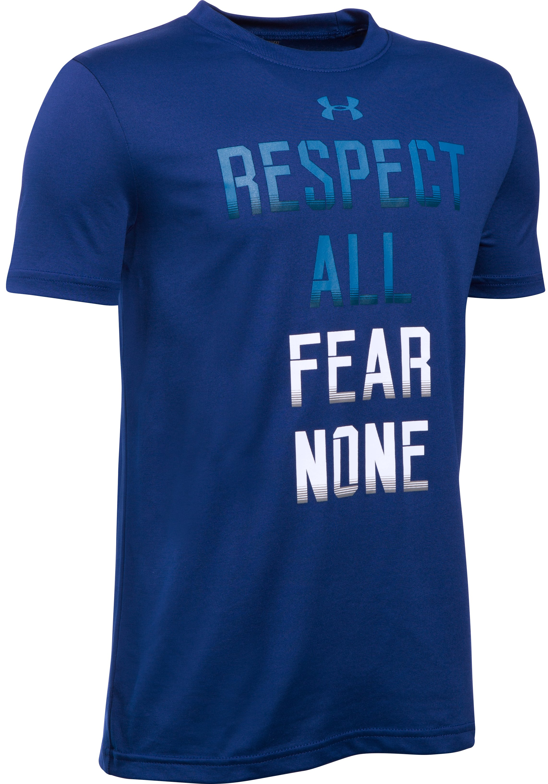Boys' UA Fear None T-Shirt, Caspian