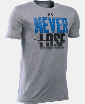 Boys' UA Never Lose T-Shirt
