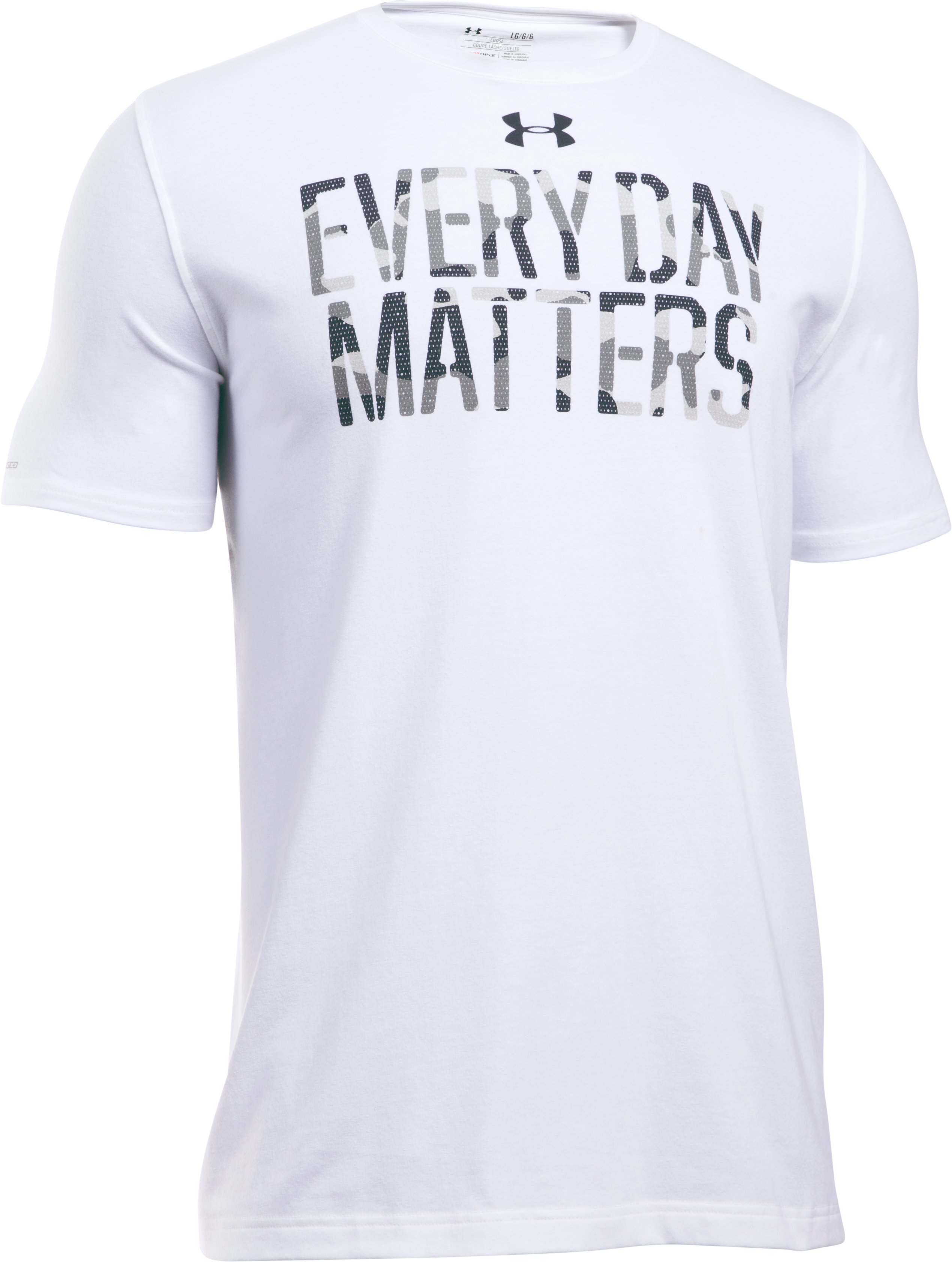 Men's UA Every Day Matters T-Shirt, White, undefined