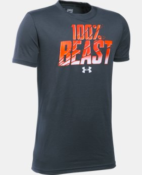 Boys' UA Unleash The Beast T-Shirt LIMITED TIME: FREE SHIPPING 1 Color $19.99
