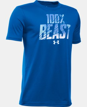 Boys' UA Unleash The Beast T-Shirt LIMITED TIME: FREE U.S. SHIPPING  $14.99