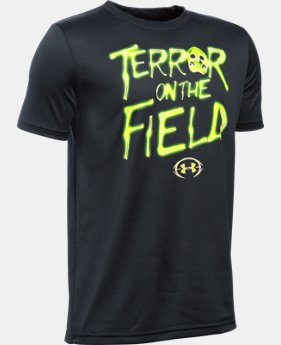 Boys' UA Terror On The Field T-Shirt   $22.99