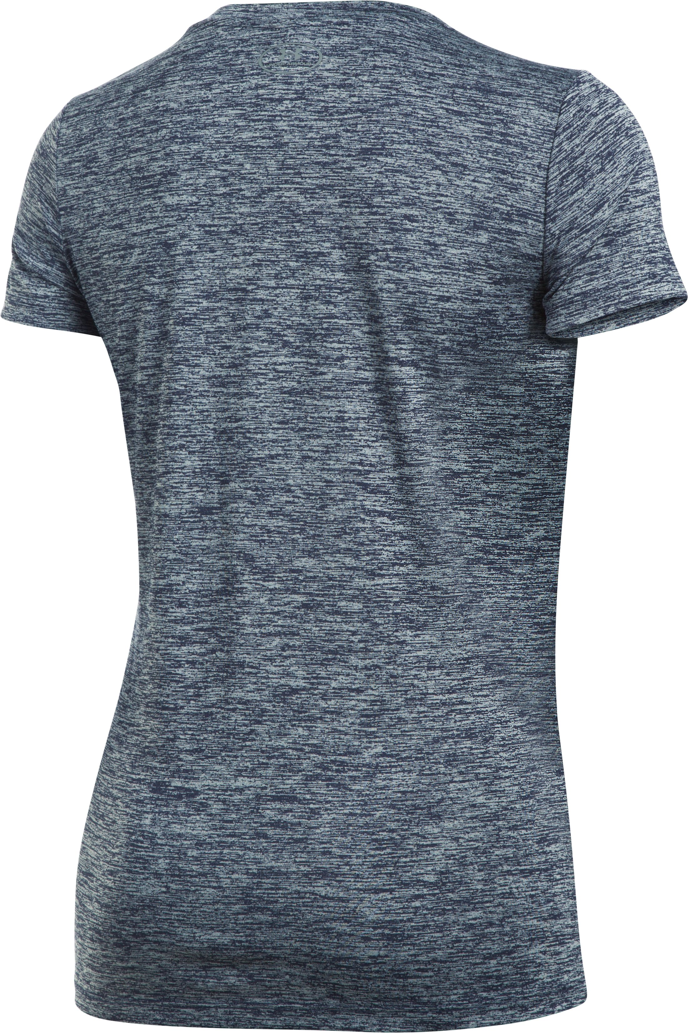 Women's UA Tech™ T-Shirt - Twist Graphic, Midnight Navy,
