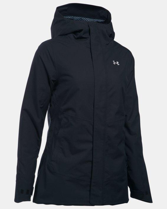 Women's ColdGear® Infrared Powerline Insulated Jacket, Black, pdpMainDesktop image number 3