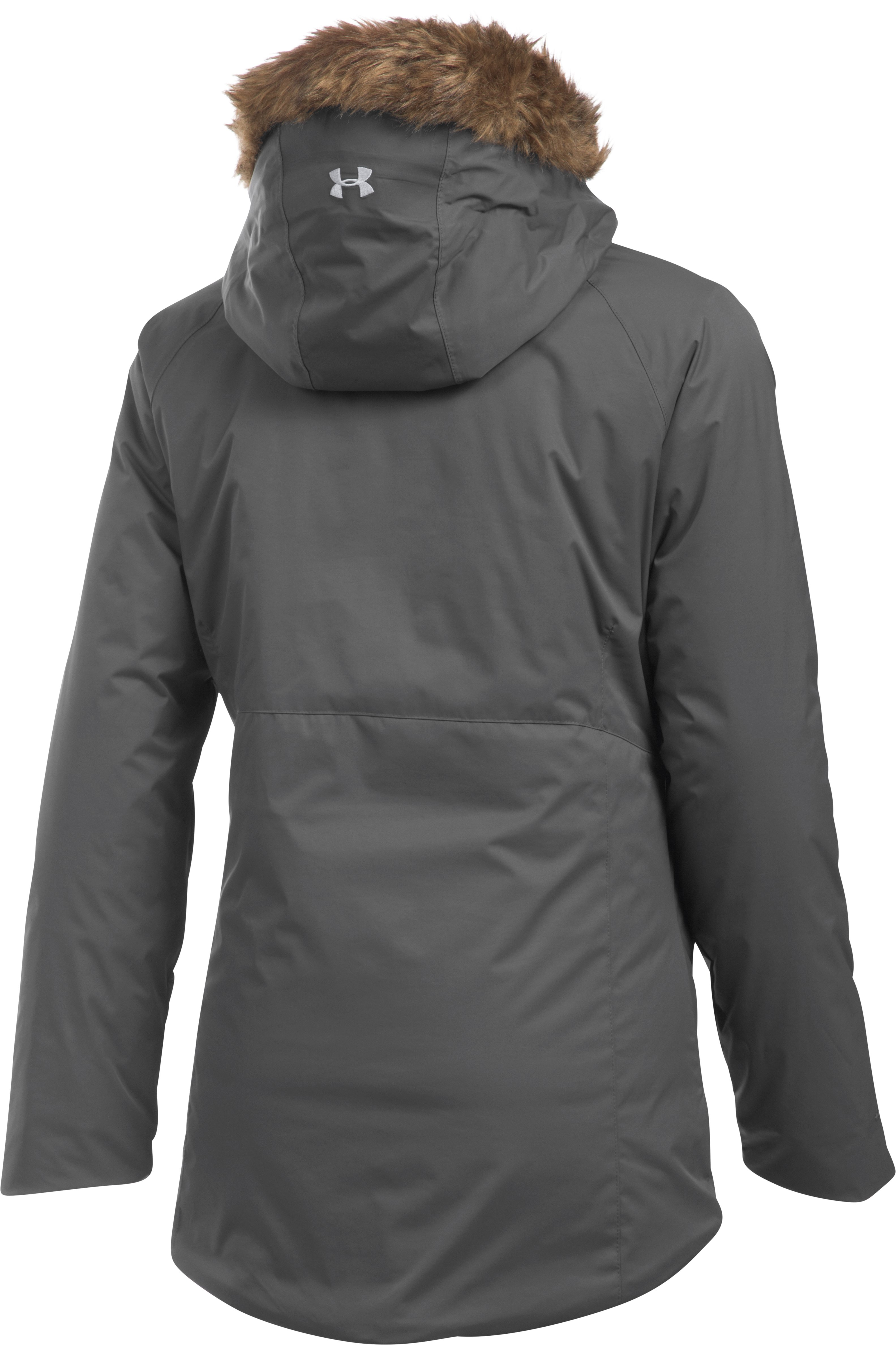 Women's UA ColdGear® Reactor Yonders Jacket, GRANITE, undefined