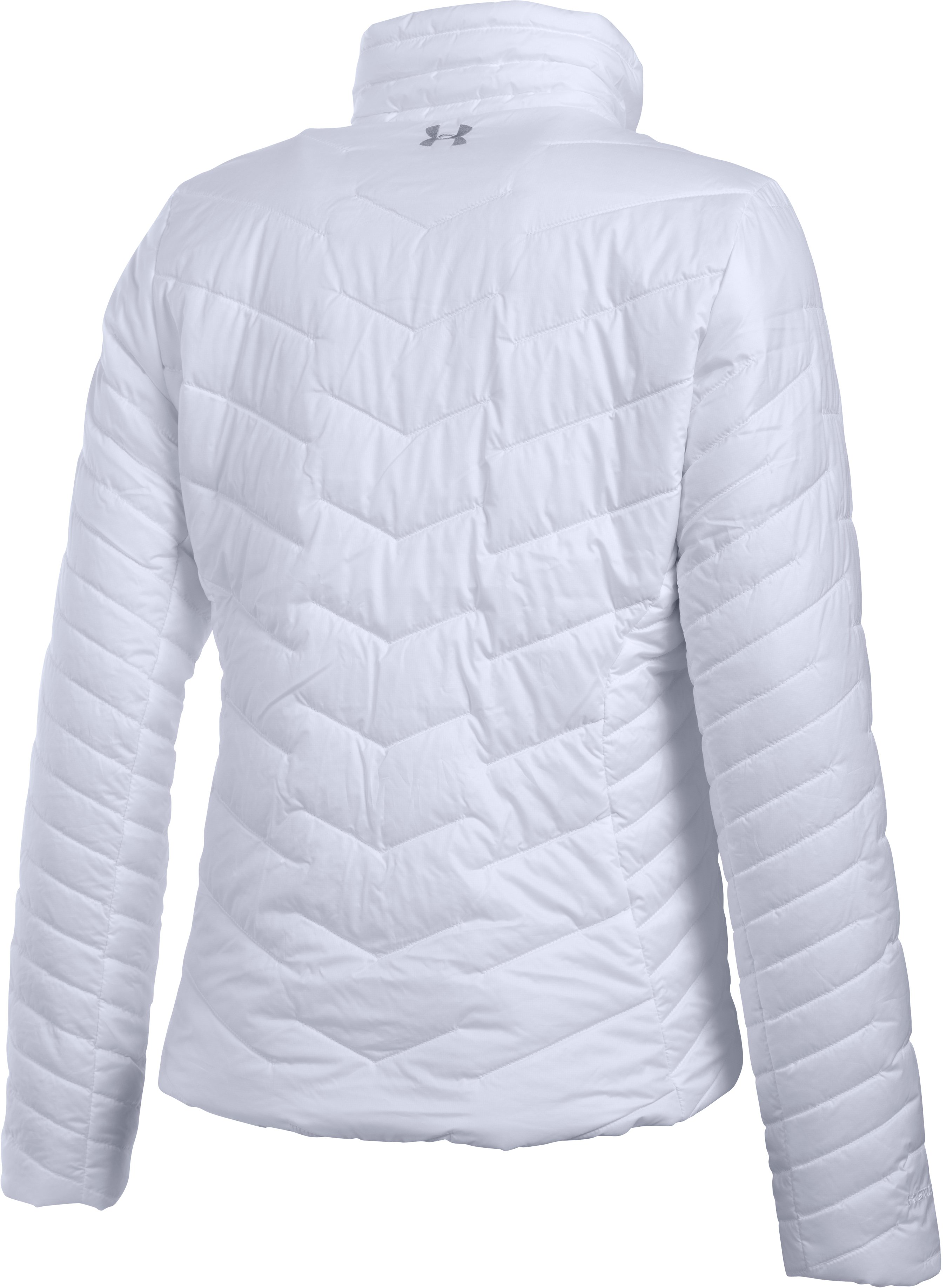 Women's UA ColdGear® Reactor Jacket, White