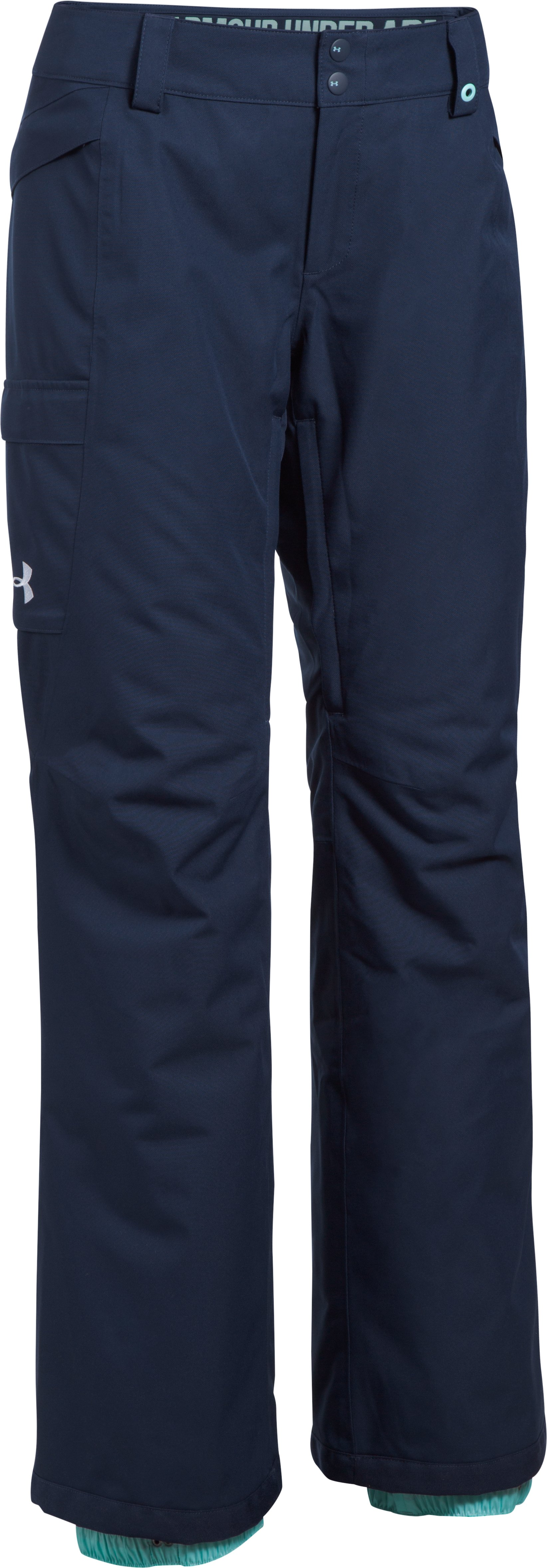 Women's UA ColdGear® Infrared Chutes Insulated Pants, Midnight Navy,