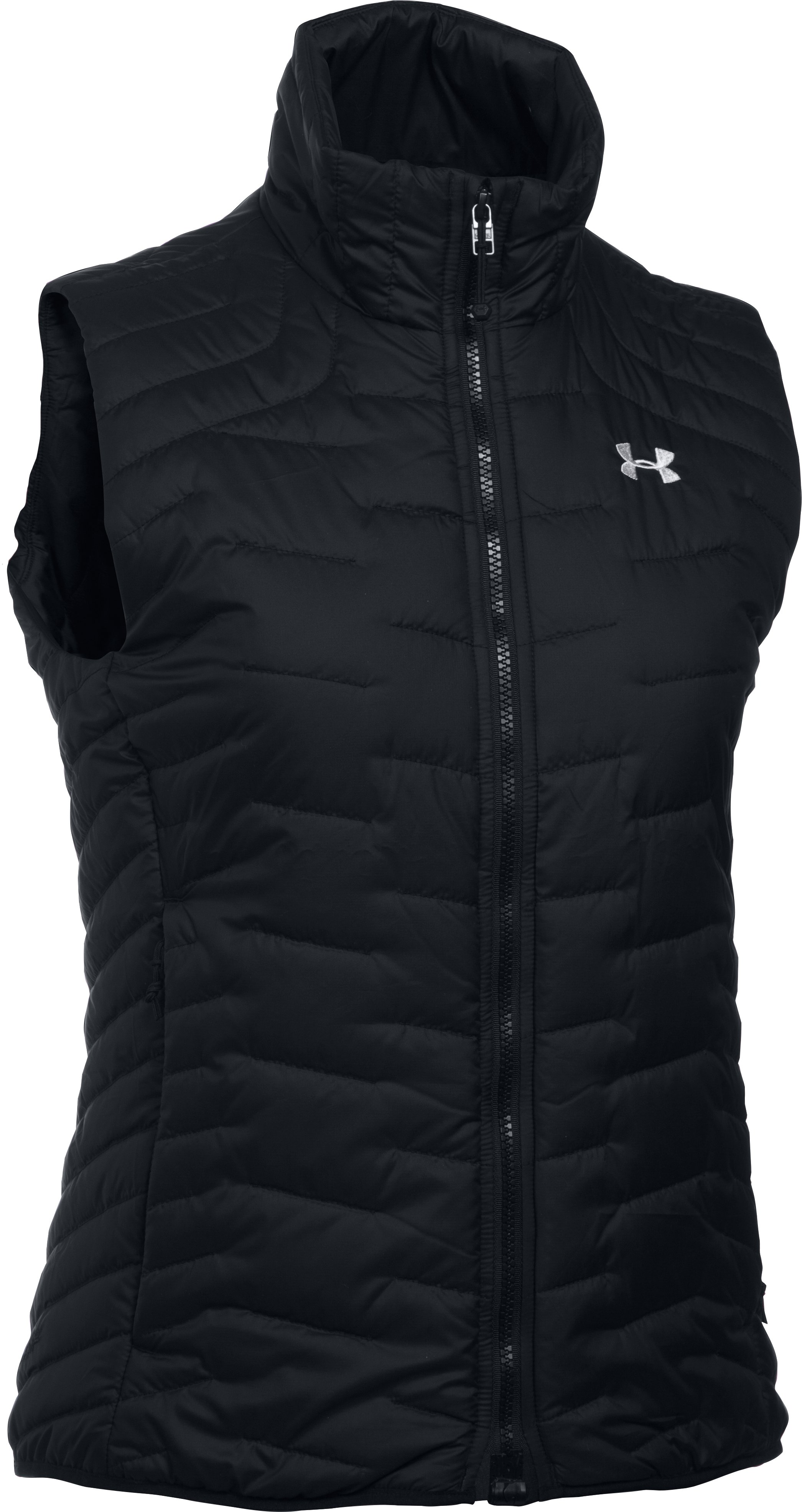 Women's UA ColdGear® Reactor Vest, Black , undefined