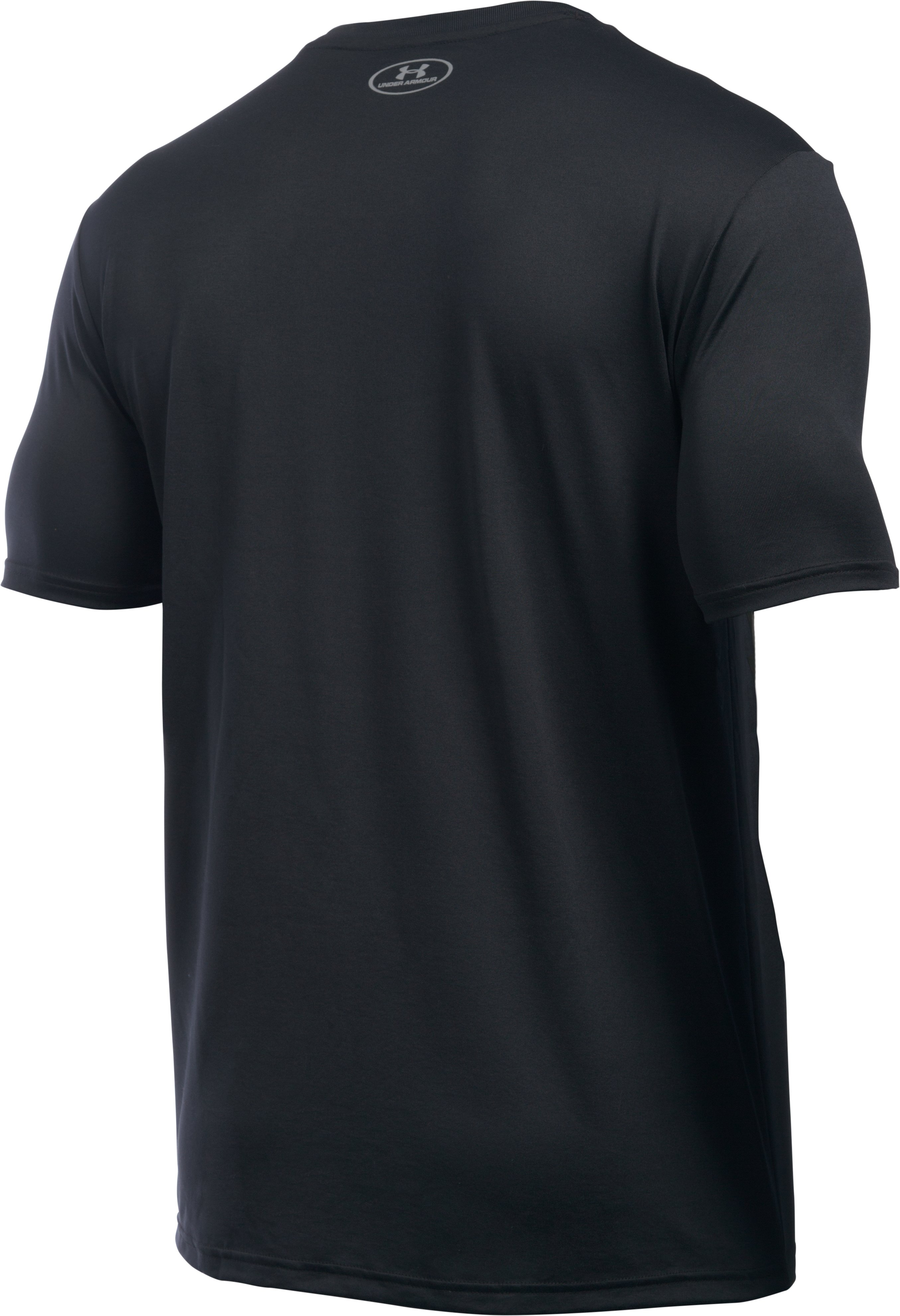 Men's UA Run T-Shirt , Black ,
