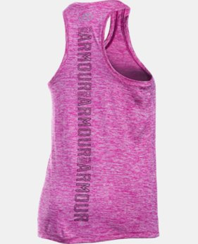 Women's UA Tech™ Twist Branded Tank
