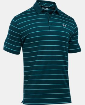 Men's UA coldblack® Swing Plane Stripe Polo   $52.99
