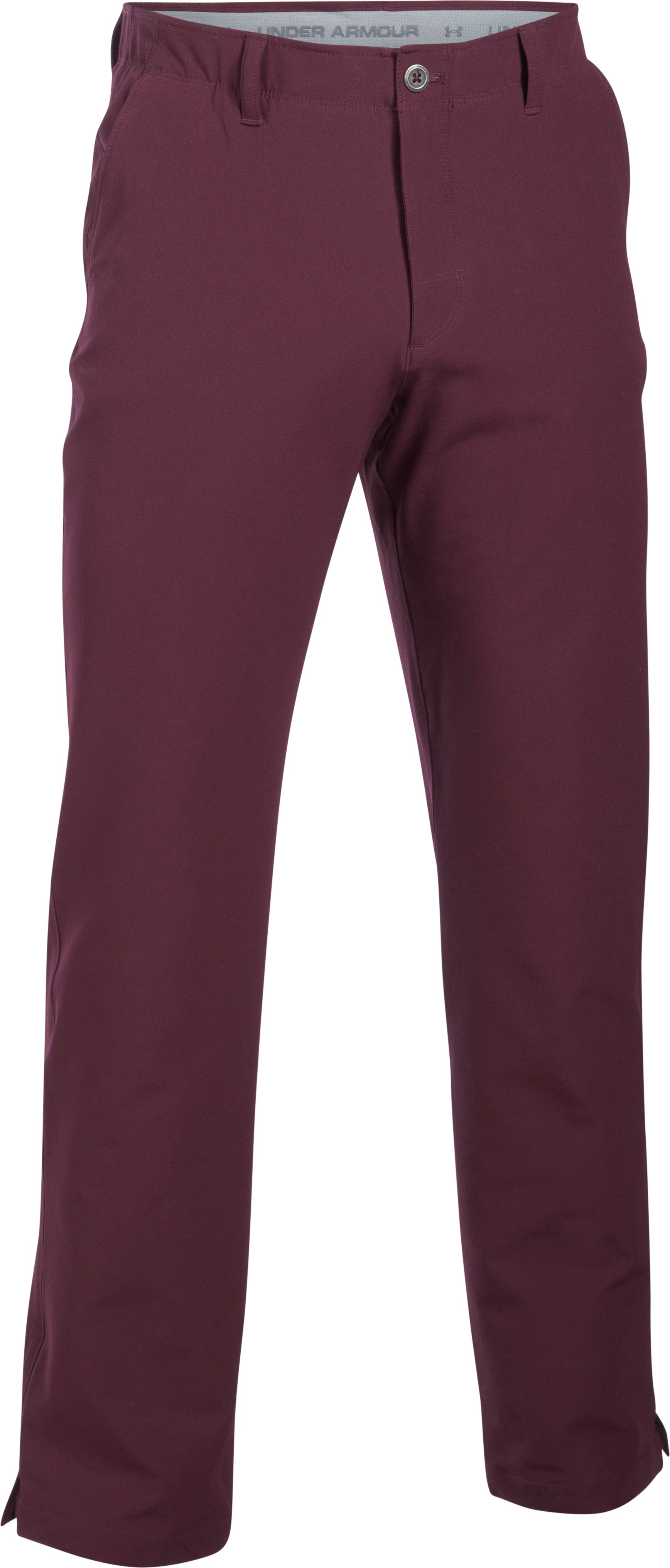 Men's ColdGear® Infrared Match Play Pants — Straight Leg, RAISIN RED, undefined