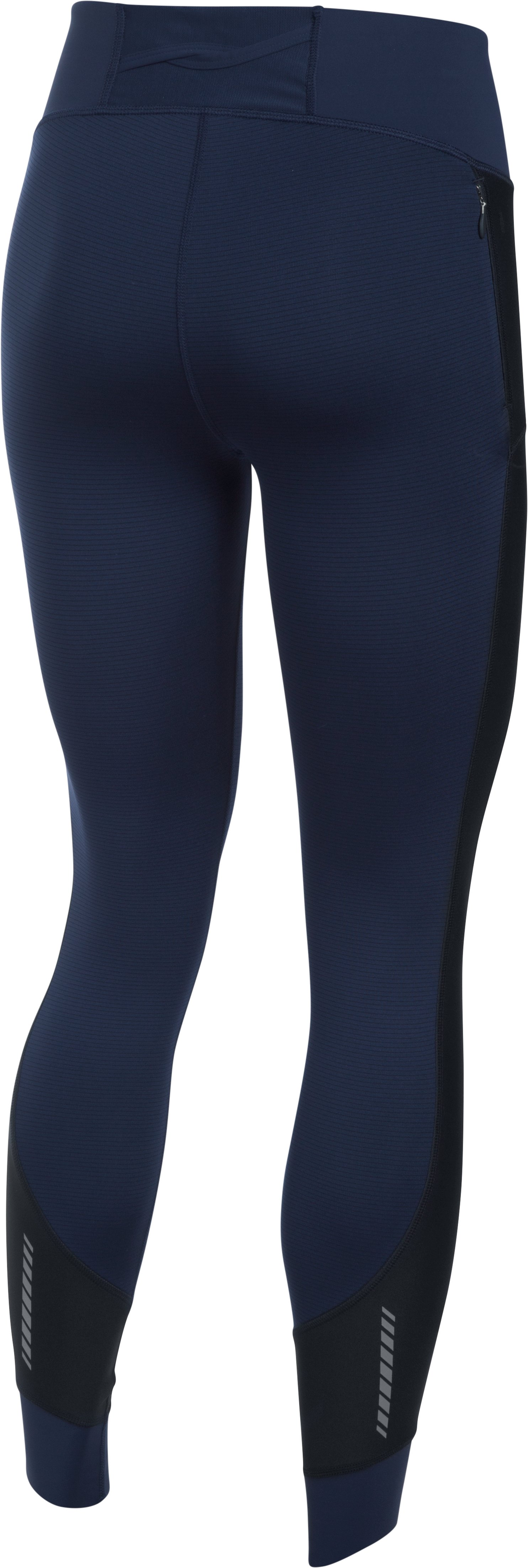 Women's UA ColdGear® Legging, Midnight Navy,