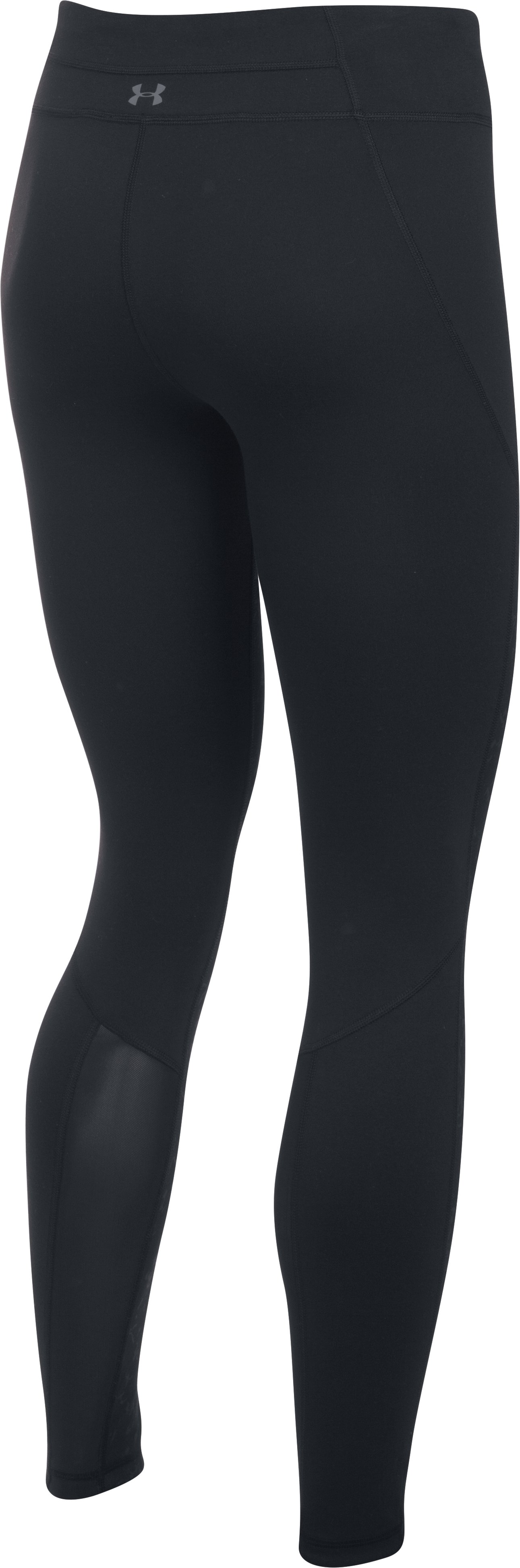 Women's UA Mirror Feathered Marble Leggings, Midnight Navy, undefined