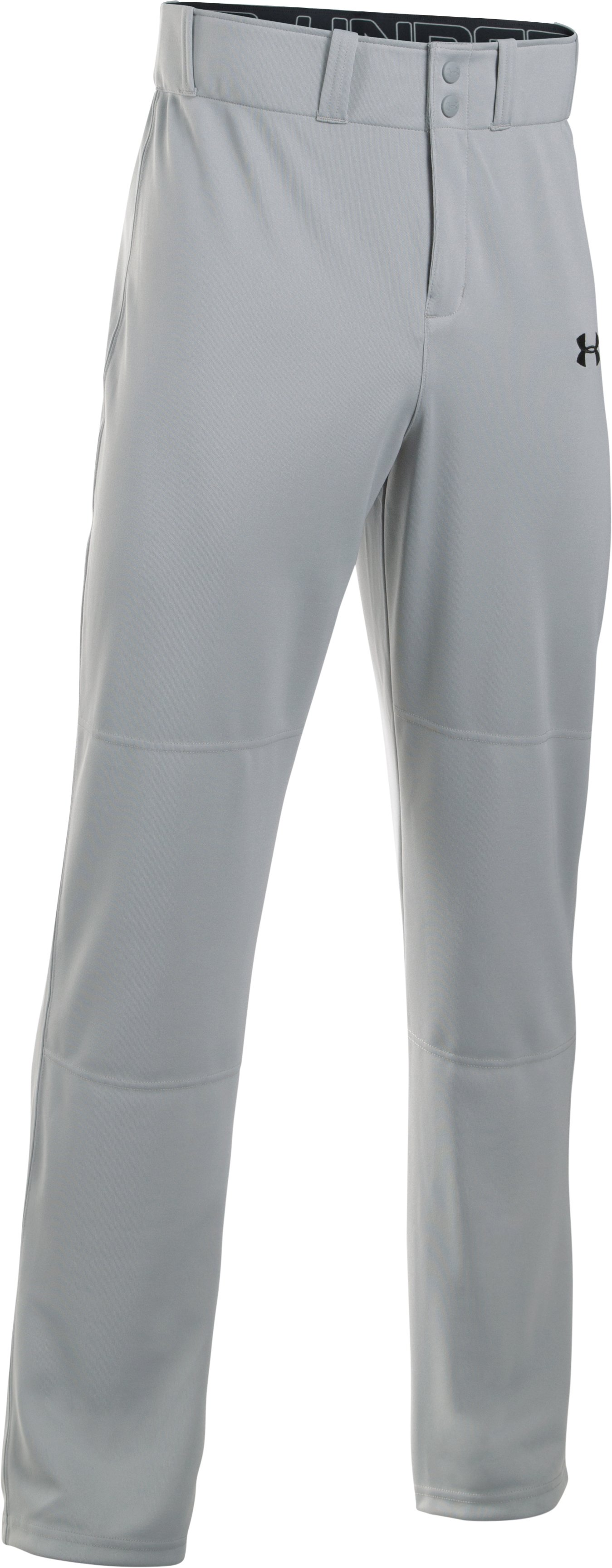 Men's UA Clean Up Baseball Pants, Baseball Gray, undefined