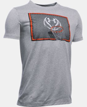 Best Seller Boys' UA Rim Rockin' T-Shirt LIMITED TIME: FREE SHIPPING  $22.99
