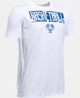 Boys' UA Basketball Lock Up T-Shirt LIMITED TIME: FREE U.S. SHIPPING  $19.99
