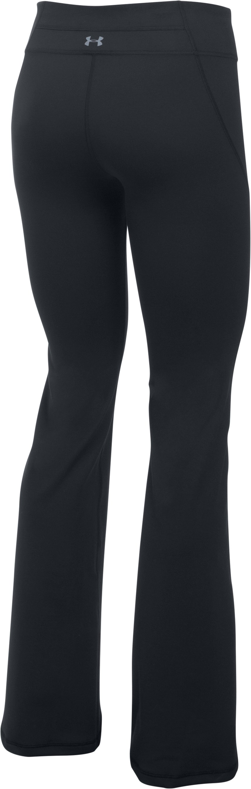 Women's UA Mirror Boot Cut Pants, Black , undefined