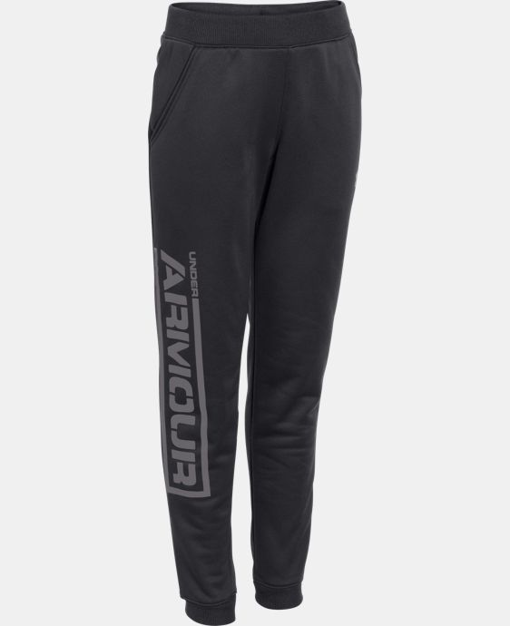 Boys' UA Armour® Fleece Jogger Pants LIMITED TIME: FREE U.S. SHIPPING 1 Color $37.99