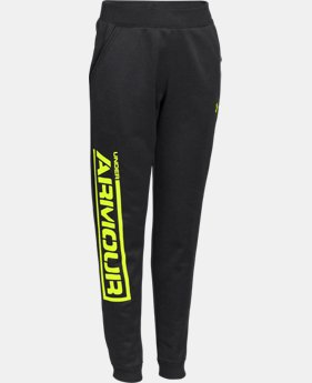 Boys' UA Armour® Fleece Jogger Pants  1 Color $29.99 to $37.99