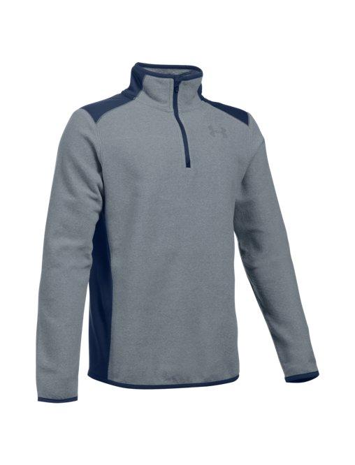 270971a5a7 Boys' UA ColdGear® Infrared Fleece ¼ Zip