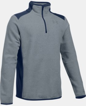 Boys' UA ColdGear® Infrared Fleece ¼ Zip  3 Colors $44.99