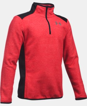 Boys' UA ColdGear® Infrared Fleece ¼ Zip   $33.74