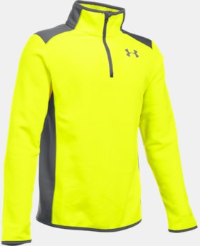Boys' UA ColdGear® Infrared Fleece ¼ Zip