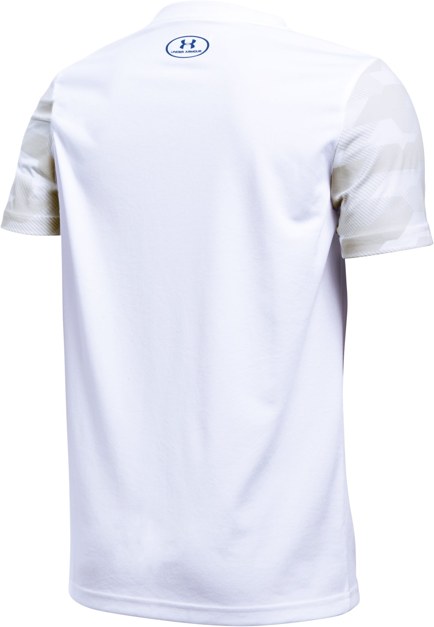 Boys' UA Respect The Shot T-Shirt, White, undefined