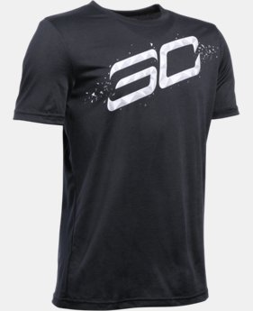 New Arrival Boys' SC30 Player T-Shirt LIMITED TIME: FREE SHIPPING 1 Color $27.99