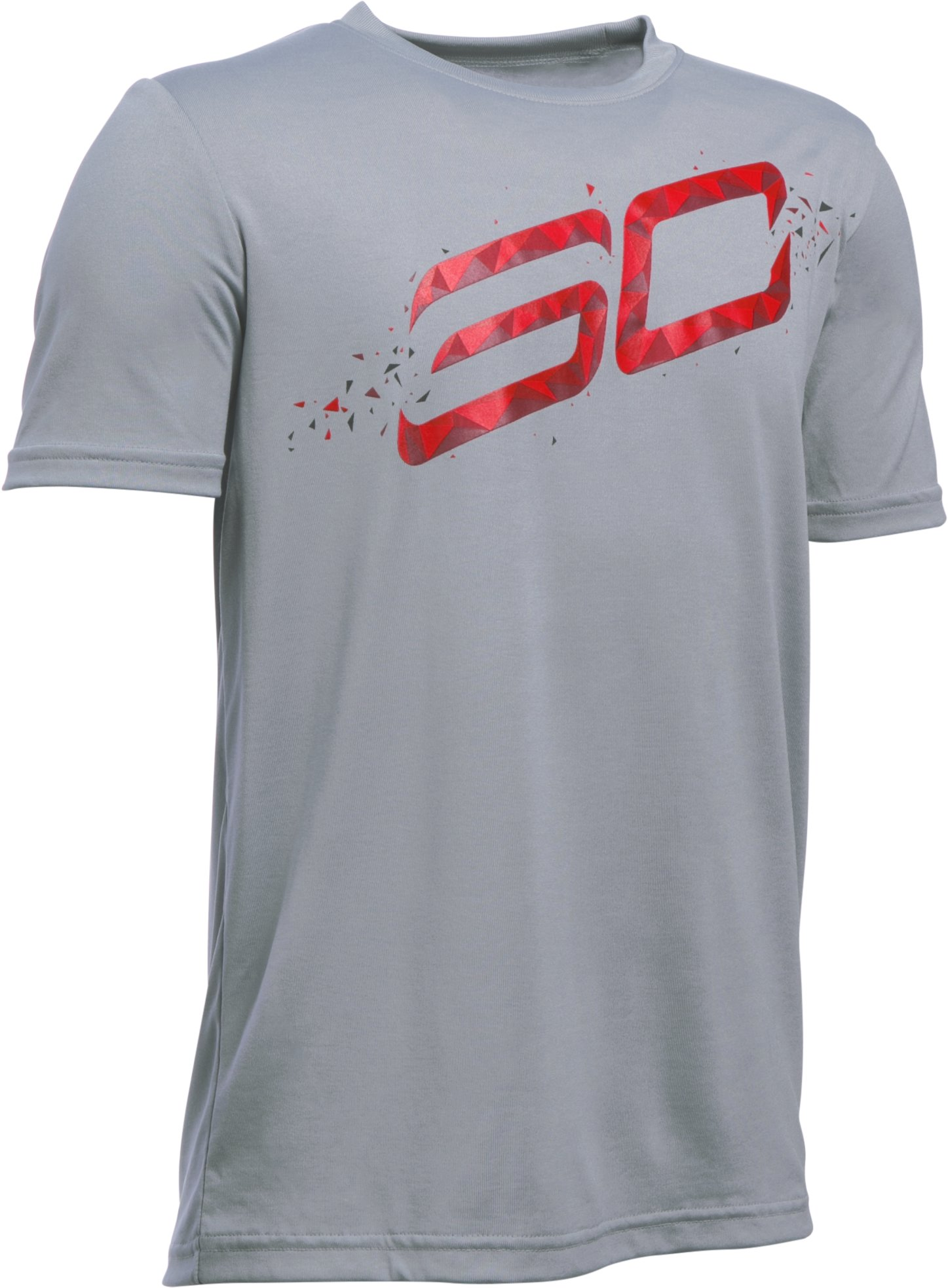 Boys' SC30 Player T-Shirt, Steel, zoomed image