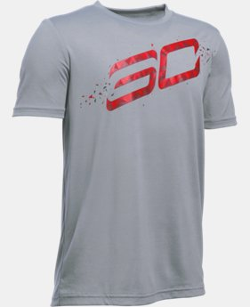 New Arrival  Boys' SC30 Player T-Shirt LIMITED TIME: FREE SHIPPING 1 Color $32.99