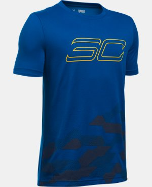 New Arrival  Boys' SC30 Raise Up T-Shirt LIMITED TIME: FREE SHIPPING 1 Color $34.99