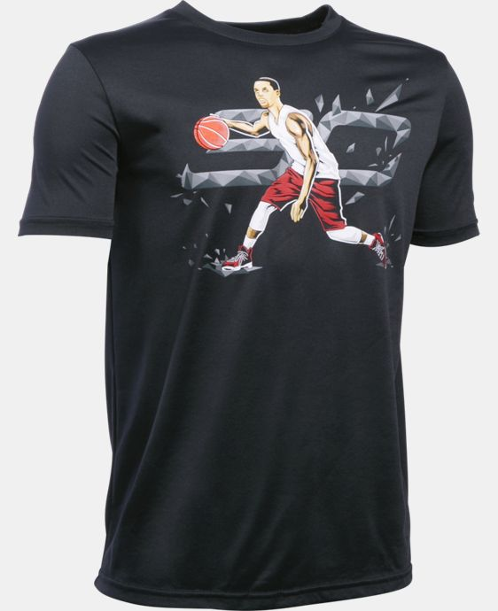 Boys' SC30 Dribble Drive T-Shirt LIMITED TIME: FREE U.S. SHIPPING 2 Colors $27.99