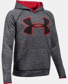 Boys' UA Armour® Fleece Highlight Twist Hoodie LIMITED TIME: FREE SHIPPING 3 Colors $44.99